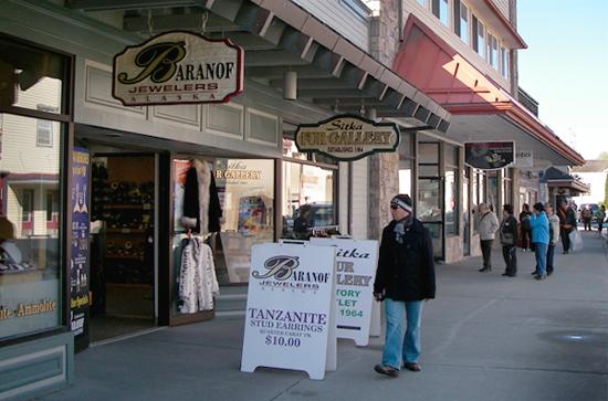 Tourist Shops in Sitka, AK