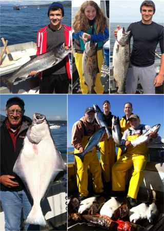 6 5 2014 Everyones happy with lots of fish