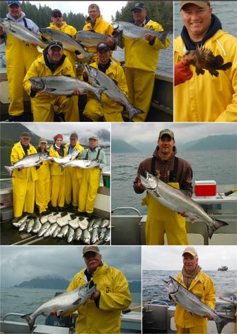 7 20 2014 Salmmin Salmon in the rain