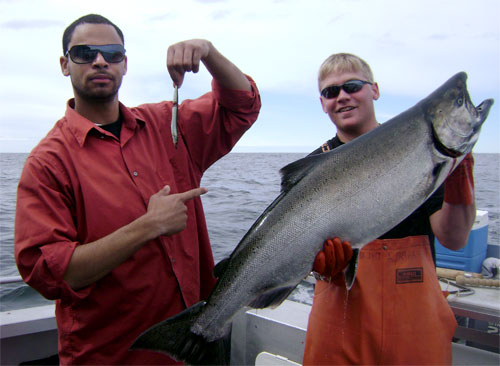 05 24 2010 I would pick the 33 pound king over this needle fish any day