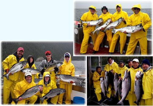 06 11 2010 Rough Water Great Salmon Fishing