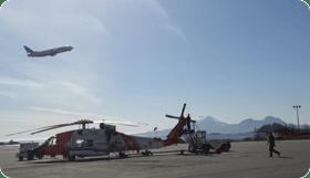 Coast Guard Takeoff