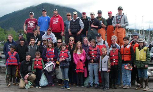 Bigs, Littles, and Charter boat captains and deckhands