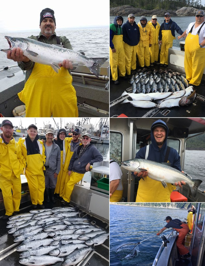 It was a big coho day!