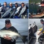 08-09-2017 Kings, lings, & releaser halibut!