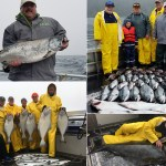 08-27-2018 A 21 lb King salmon and a 140 lb releaser halibut highlight the day!