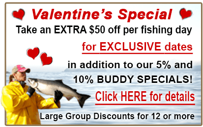 kissing fish, february special