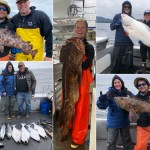 5-27-21 A super sized resident Lingcod was the catch of the day!