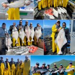 Great King Salmon and Halibut action!
