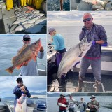 7-30-21 The catch of the day was a 54 lb King Salmon with Captain Greg!