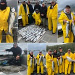 8-10-21 Coho keepers and memorable releasers!