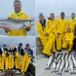 8-13-21 Chunky Cohos on a wet and windy day!