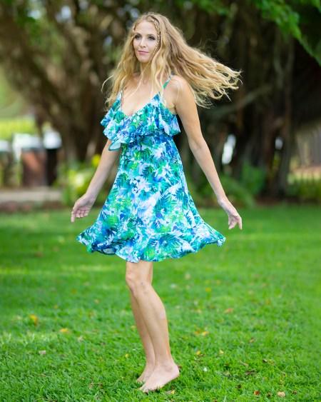 Seychelles Rose Dress in Fairyland