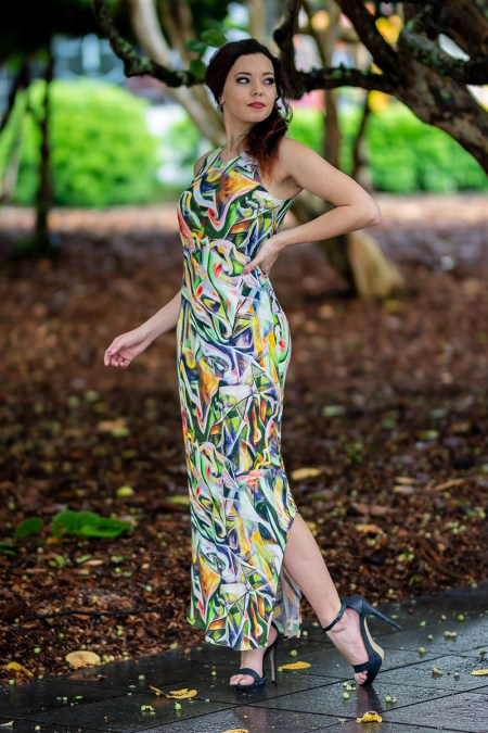 Phoenix Maxi in Picasso Summer