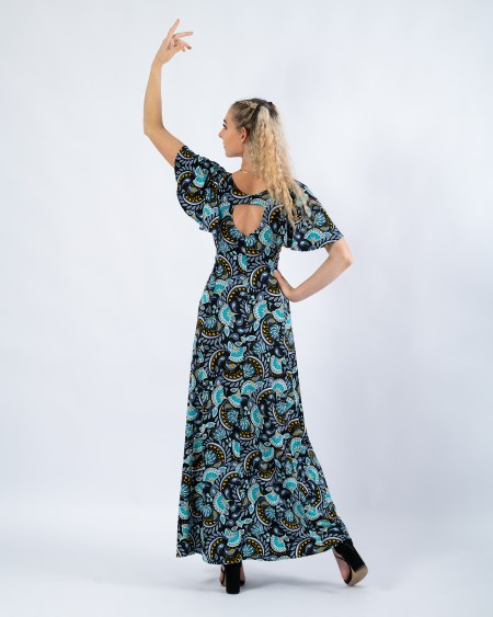 Teardrop Maxi Dress in Decadence