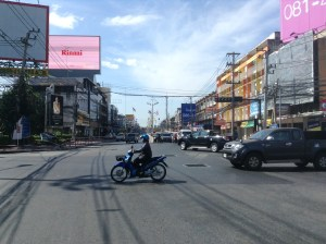 intersections in thailand