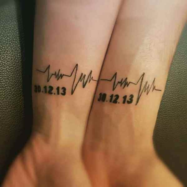 lovely matching tattoos