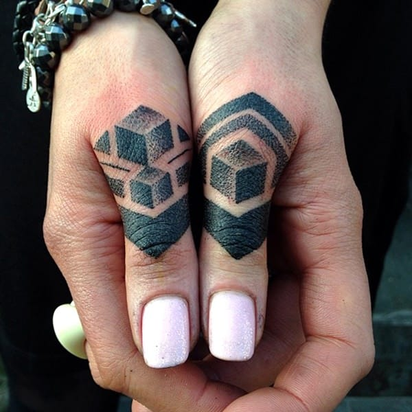 Finger Tattoos 101 Designs Types Meanings  Aftercare