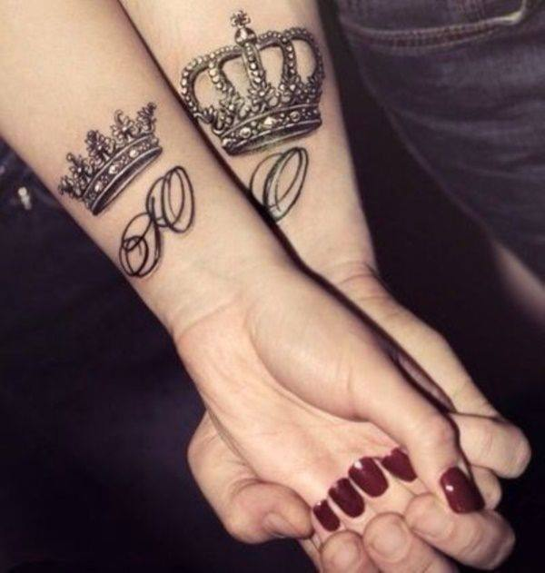 150 Most Sought After King and Queen Tattoos  Wild