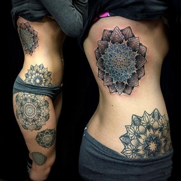 Mandala Wrist Tattoo Cover Up