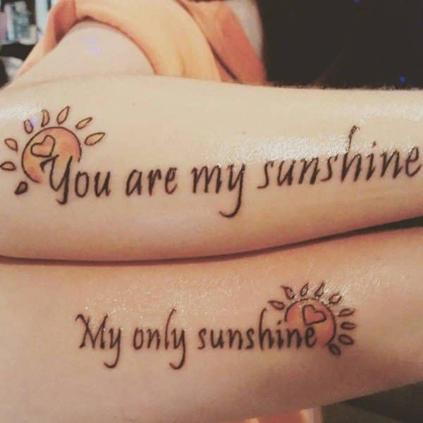 Meaningful Mother Daughter Quotes Tattoos