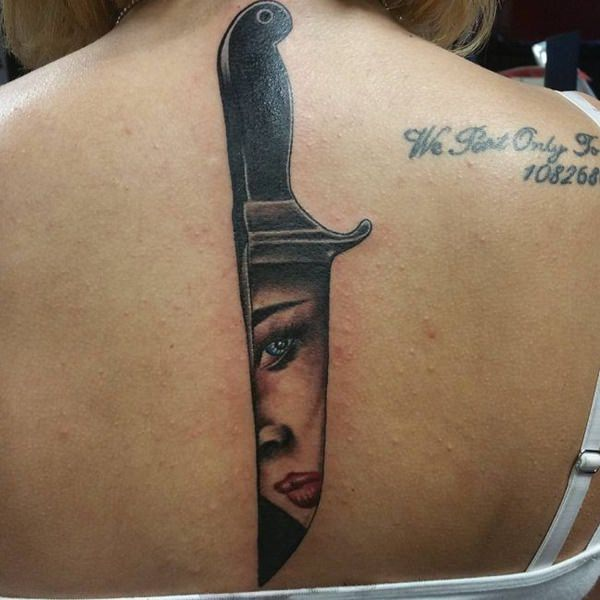 wonderfully crafted spine tattoos