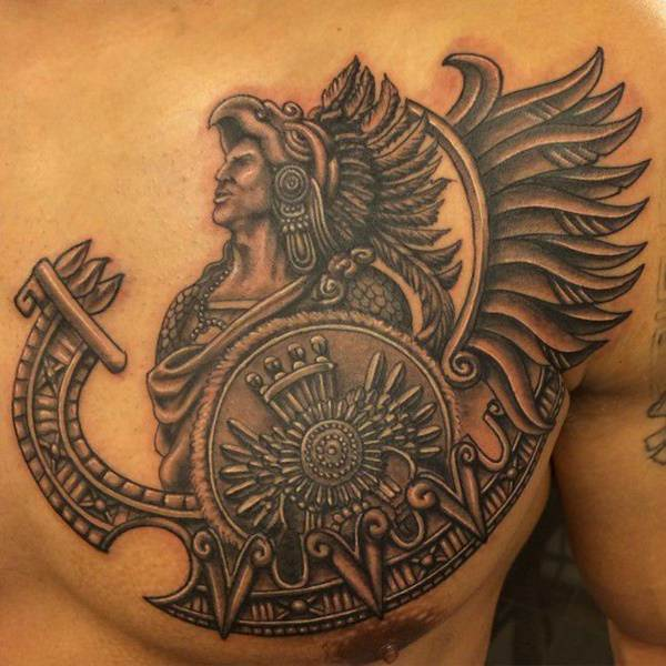 Aztec Design Tattoos