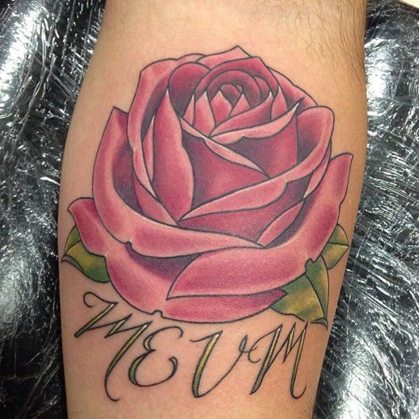 Rose Losing Petals Tattoo