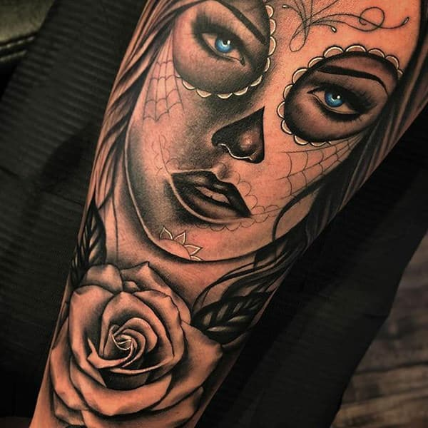 Dawn Of The Dead Girl Tattoo