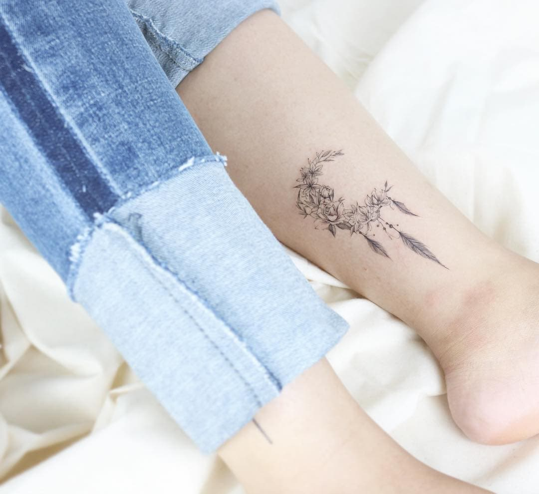 Meaningful Dream Catcher Tattoo On Wrist