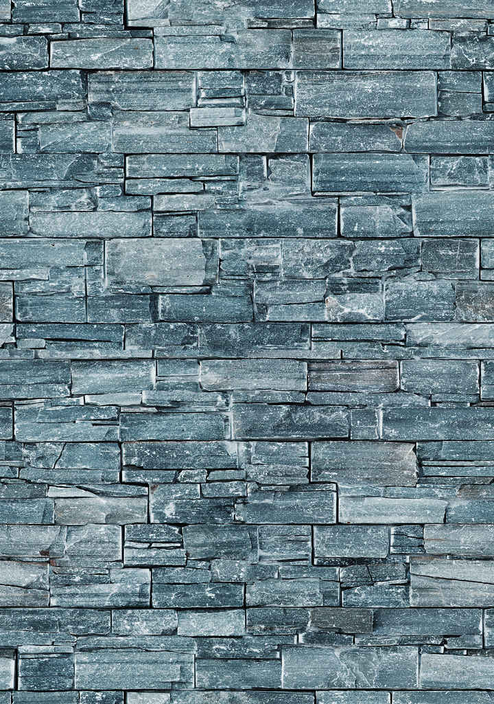 irregular dark grey stone tiles