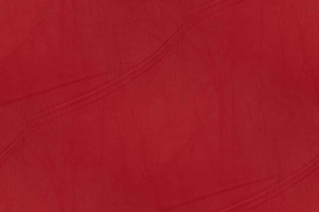 Leather Texture  Campo Series  Post Box Red