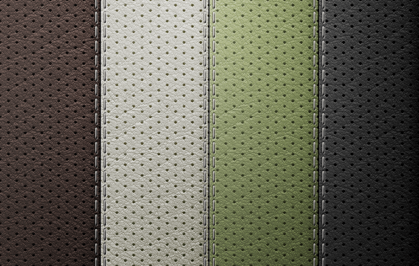 Perforated Leather – Seamless Texture Set