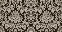Damask Fabric Wall Cover