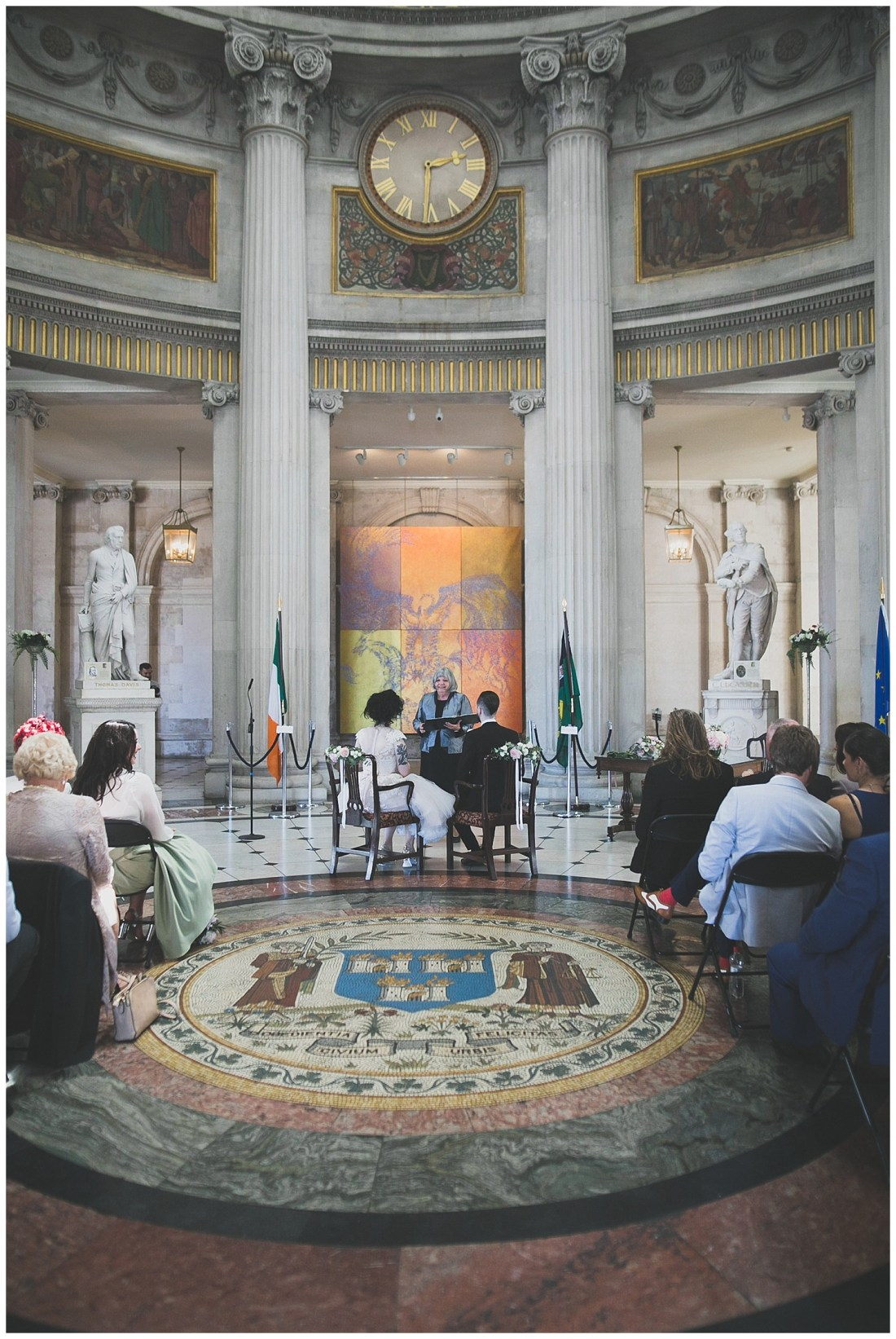 Alternative humanist, non-religious ceremony venue - City Hall Dublin
