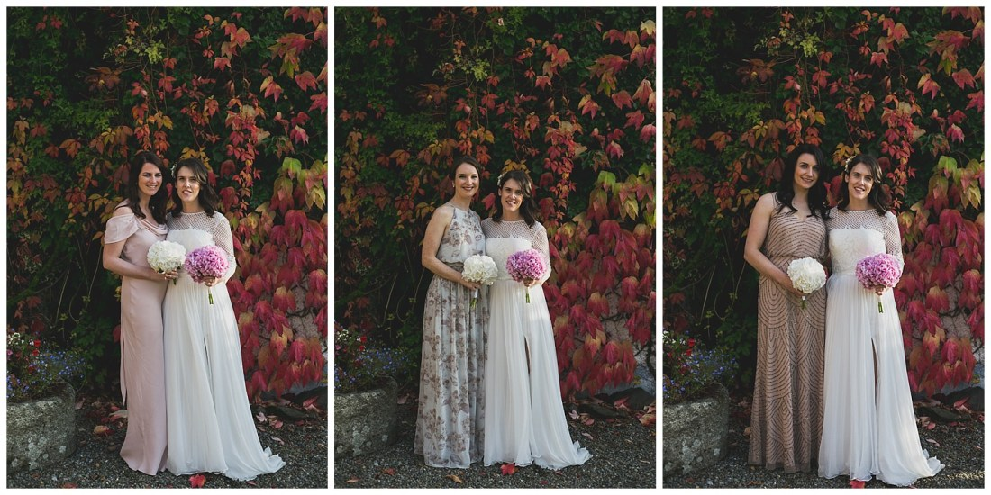 Individual bridesmaids portraits