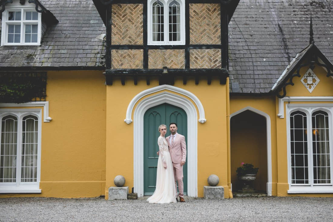 Styled wedding shoot at Martinstown House Kildare