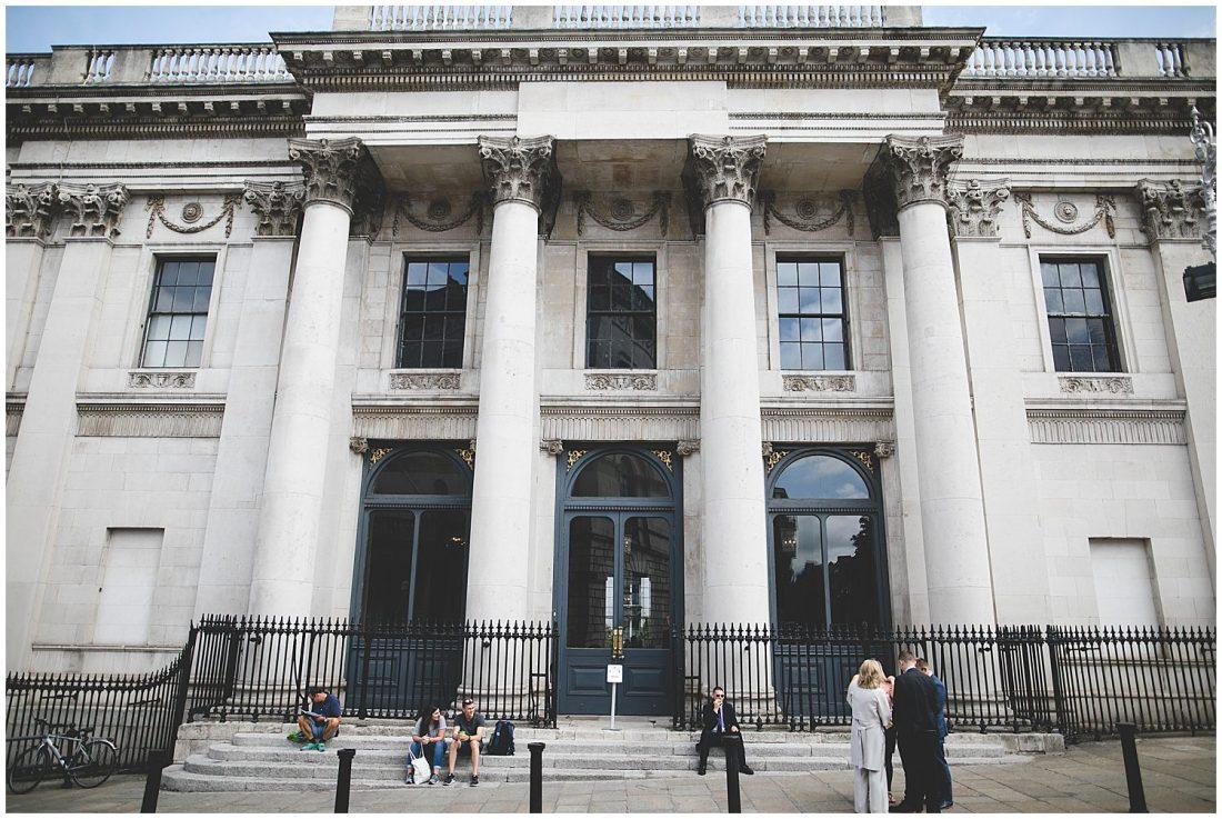 City Hall Dublin Dame Street