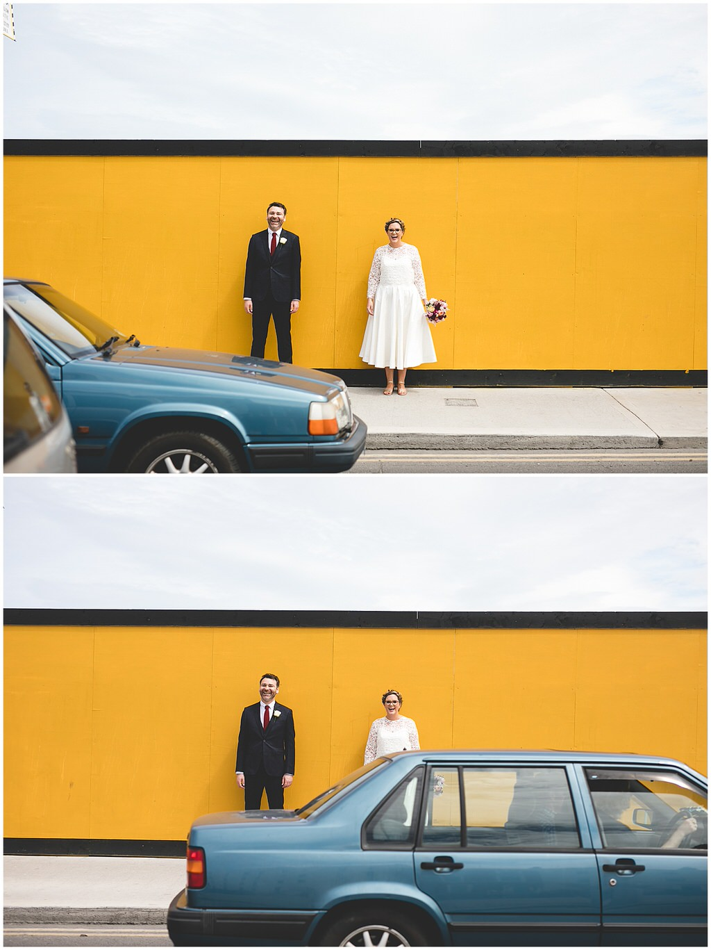 Photobombed by passing cars