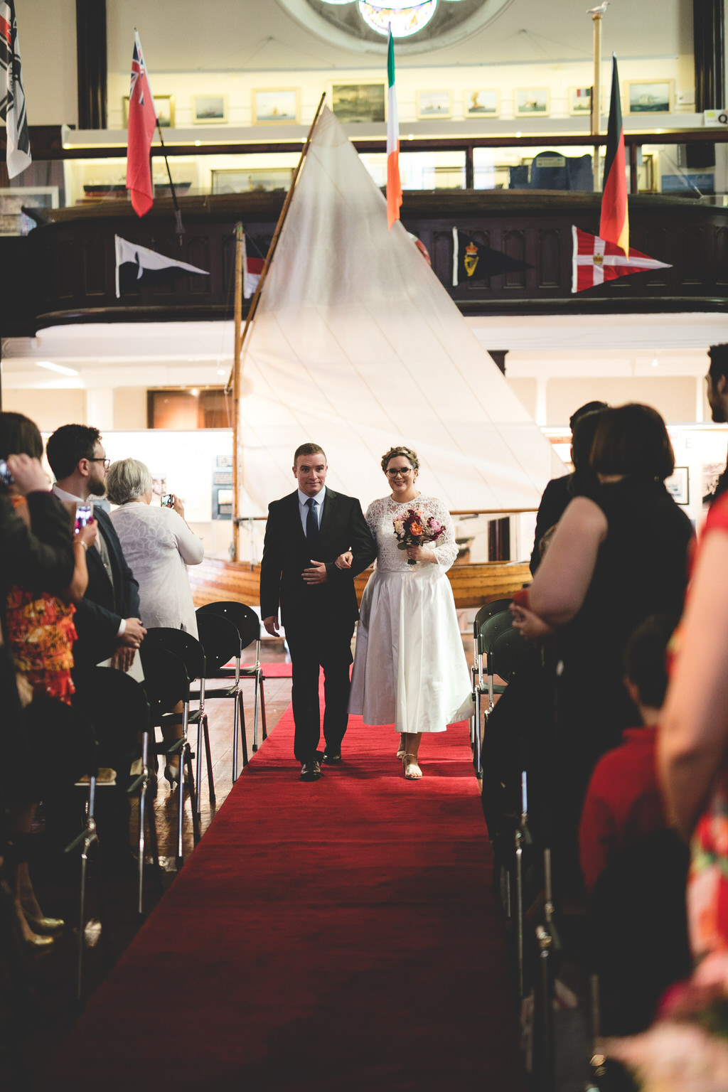 Humanist wedding at the maritime museum dublin