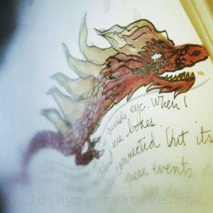 left handed dragon