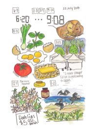 Hourly Illustrated Journal Book-13