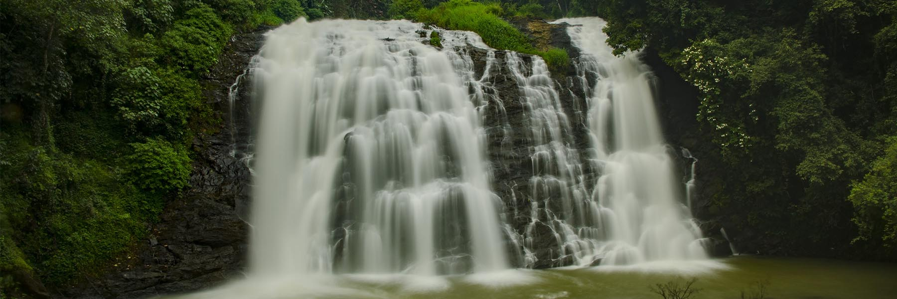 Waterfalls hopping in Coorg
