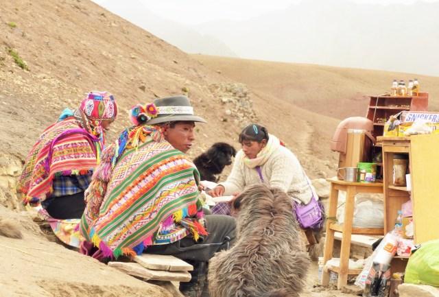 rainbow mountain people