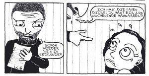 "Graphic Novel ""Offene Arme"": Grenzerfahrung Borderline"