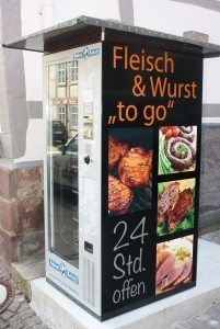 Fleisch to go: Der Grillomat!