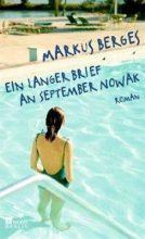 Markus Berges: Ein langer Brief an September Novak
