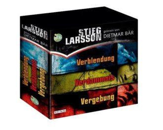 Stieg Larsson:  Die Millennium-Trilogie als Hörspiel