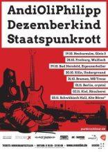 Staatspunkrott, AndiOliPhilipp & Dezemberkind in Bad Hersfeld
