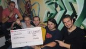 """""""E-lectribe goes Charity"""" ein voller Erfolg - unglaubliche 7.000 Euro gehen an ShelterBox"""
